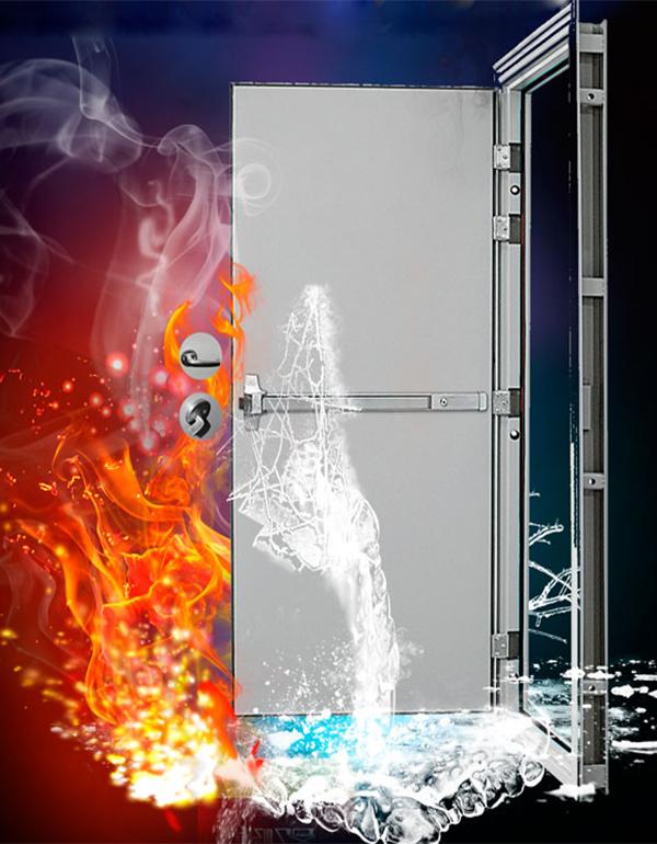 钢质防火门